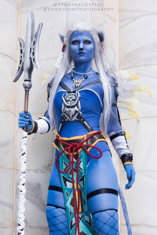 Kimahri Ronso Genderbend From Final Fantasy X X2 Cosplay