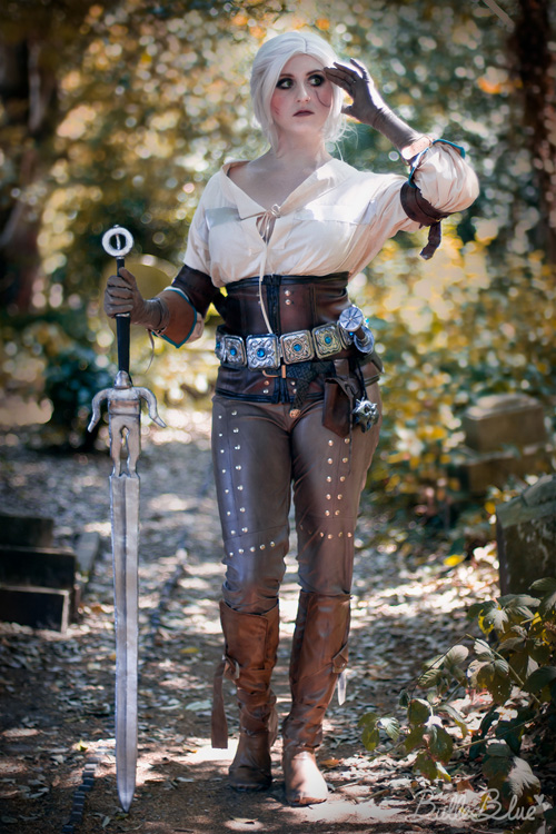 Ciri From The Witcher Cosplay