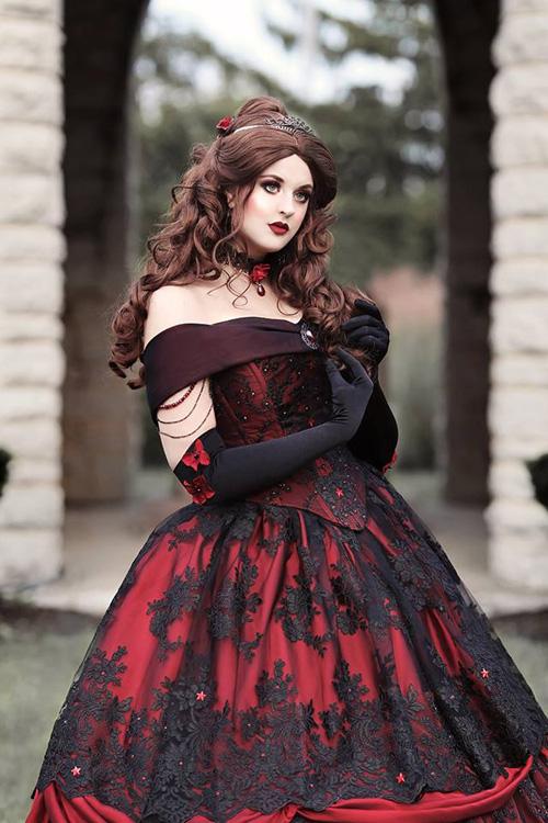 Gothic Belle Photoshoot
