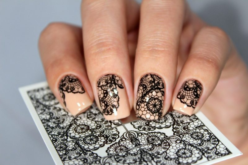 Lace Stickers.