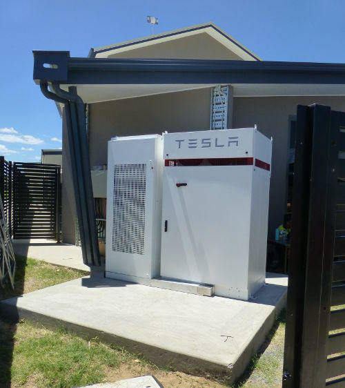Australia's first installed Tesla Powerpack 1.5
