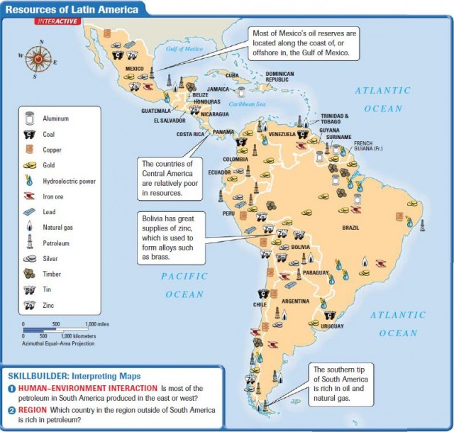 Colombias Minerals Natural Resources