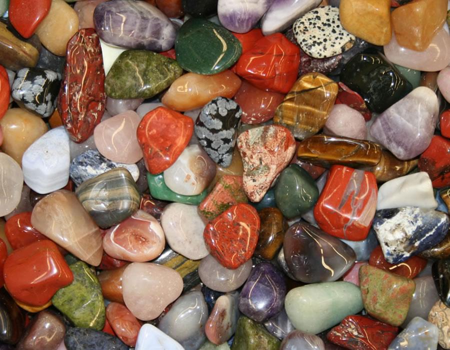 Large Polished River Rocks
