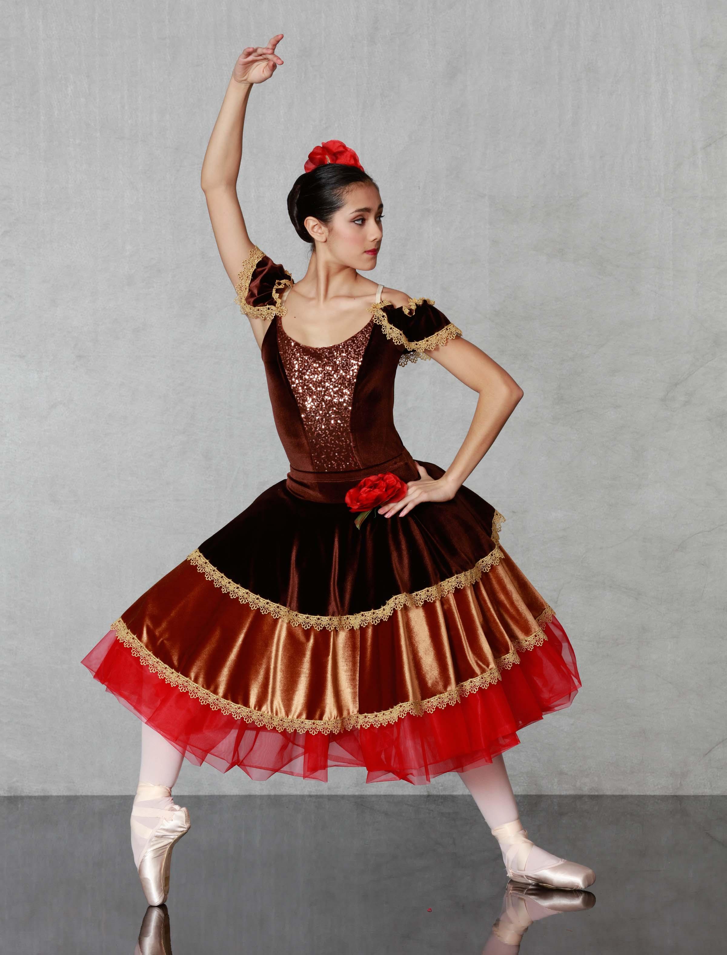 Georgie Girl Costumes Nutcracker Spanish
