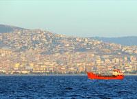 دریای مرمره، دریای داخلی ترکیه.