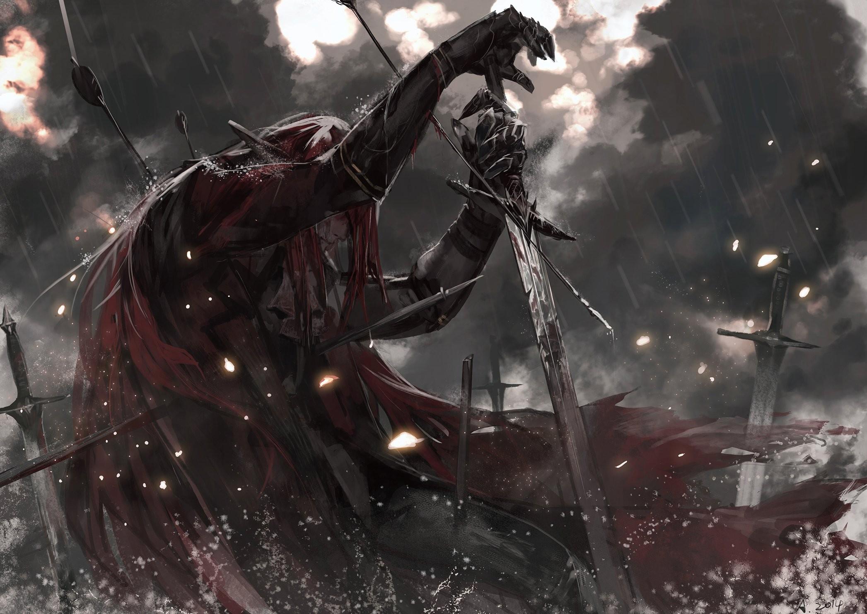 Demon Wallpaper Sword Blood