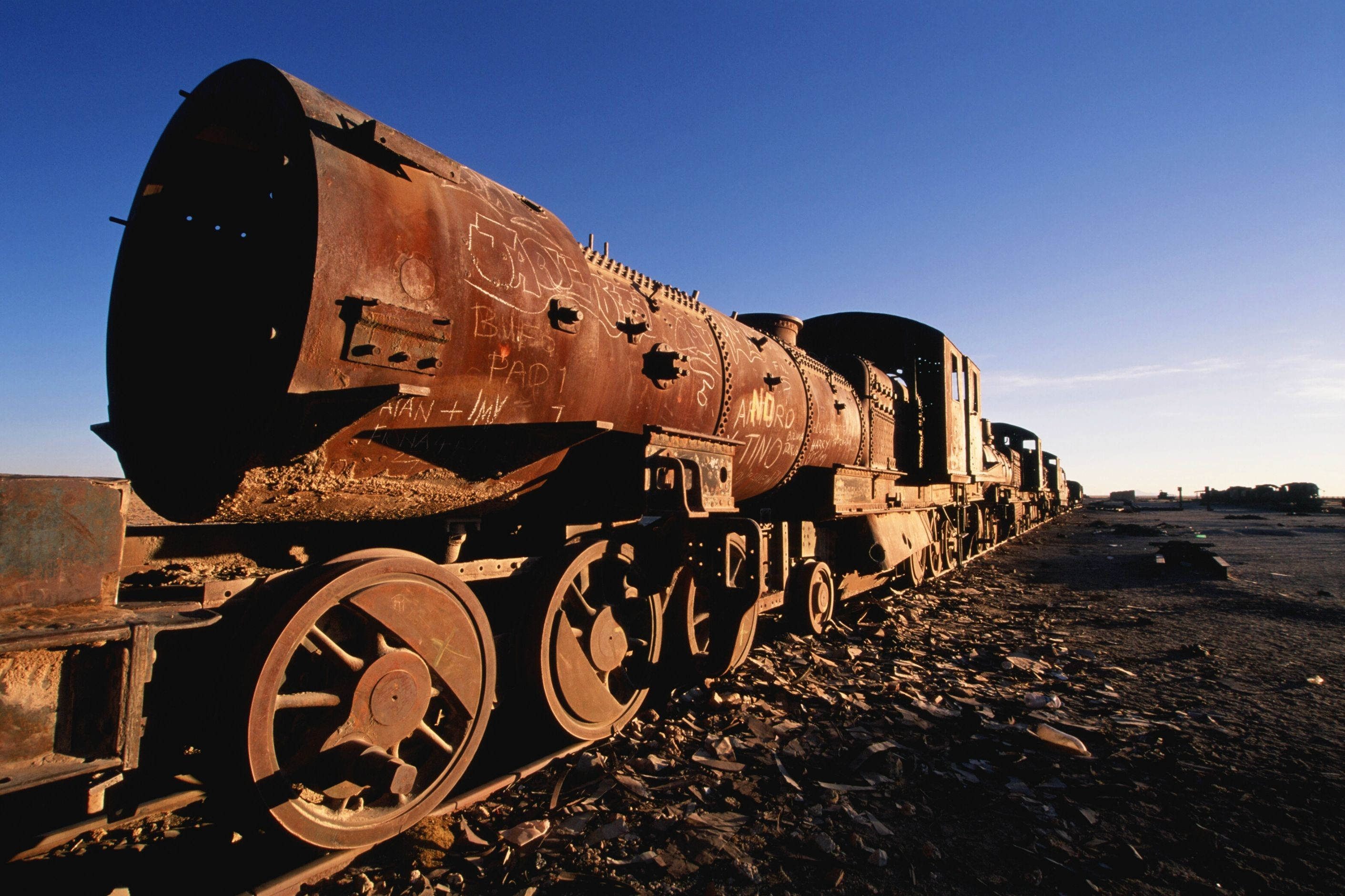steam locomotives on sand patch grade - HD 2823×1881