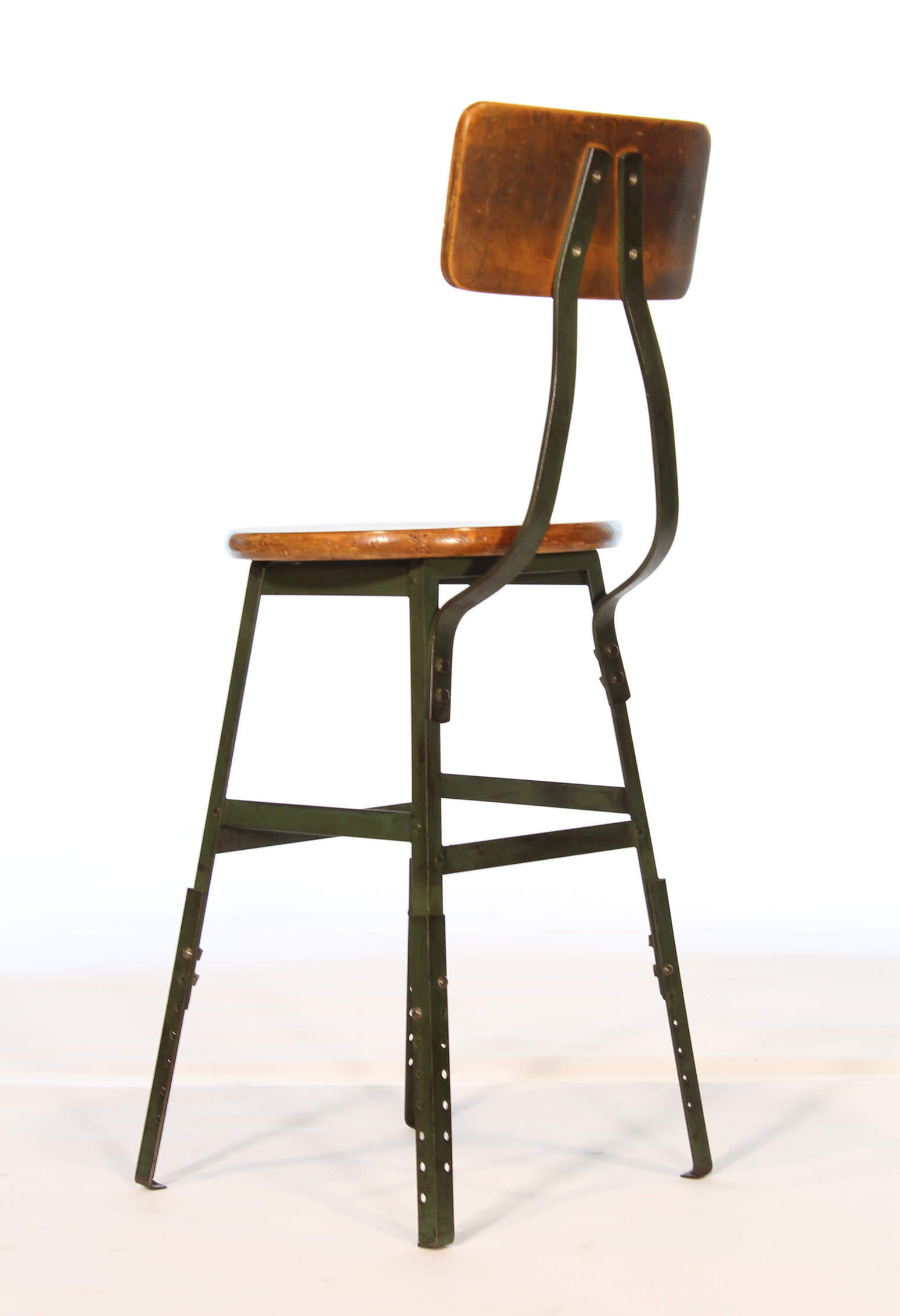Vintage Industrial Factory Stool Vintage Industrial By