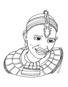 african coloring pages # 38