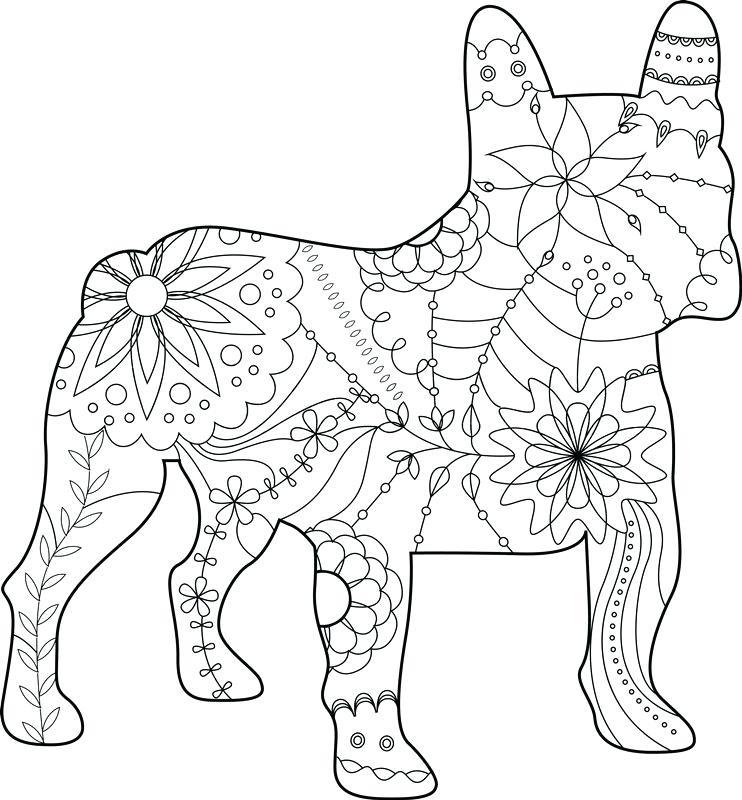 Bulldogs Printables Coloring Georgia