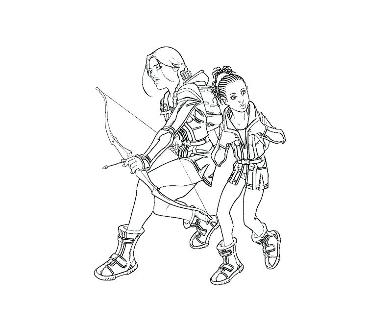 Hunger Games Coloring Pages At Getcolorings Com Free Printable