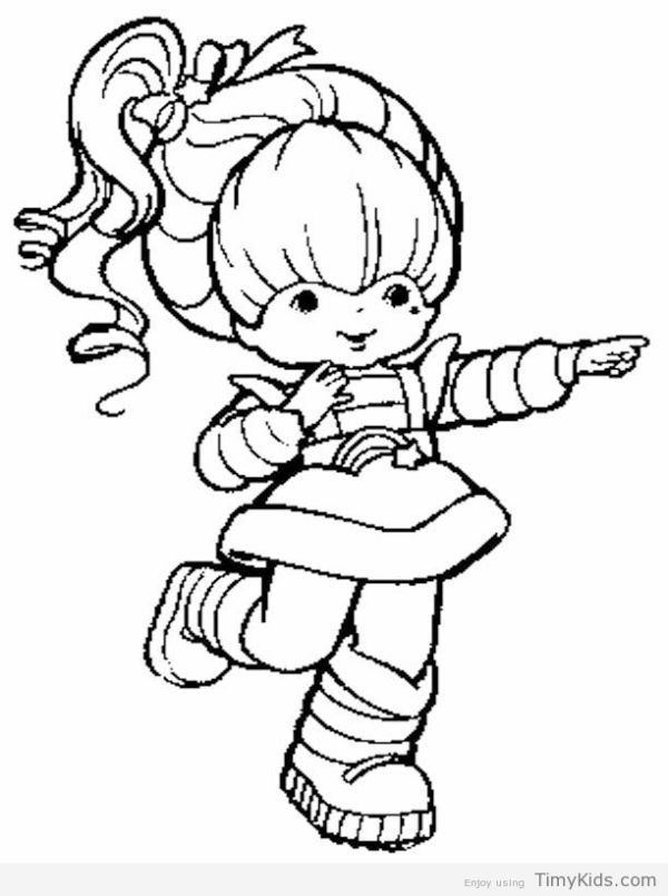 rainbow brite coloring pages # 67