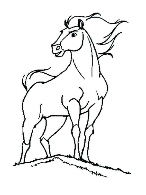 spirit stallion of the cimarron coloring pages # 36