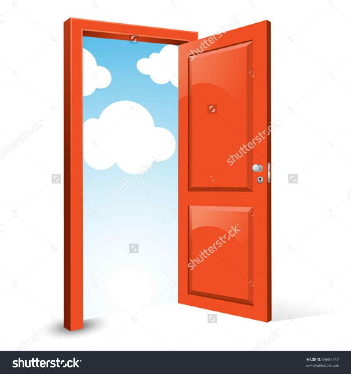 Front Door Opening Images Man Walking