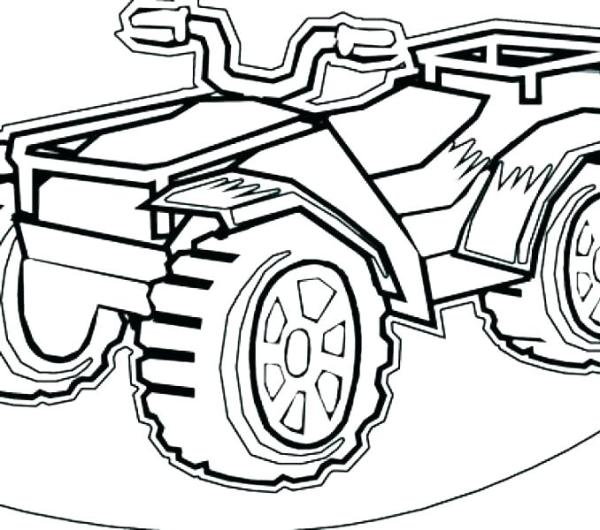 four wheeler coloring pages # 51