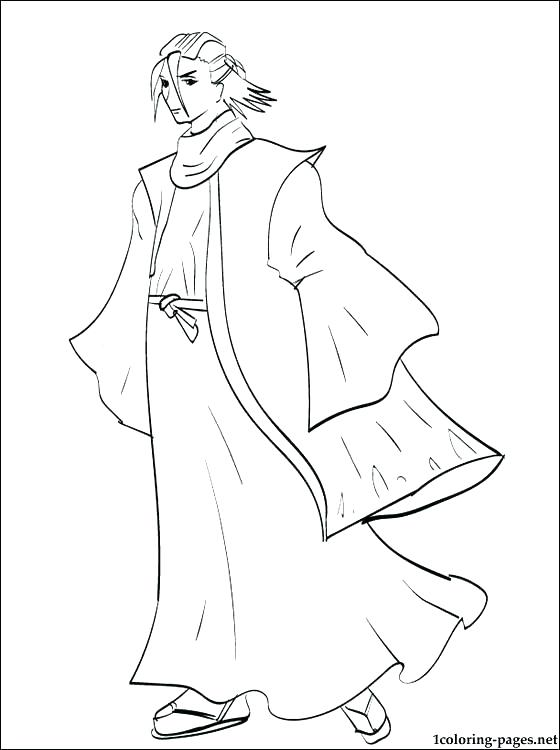 bleach coloring pages # 20