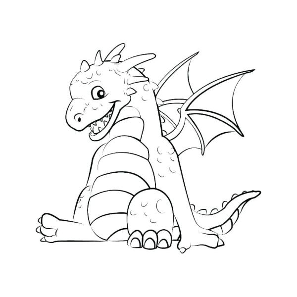 baby dragon coloring pages # 38
