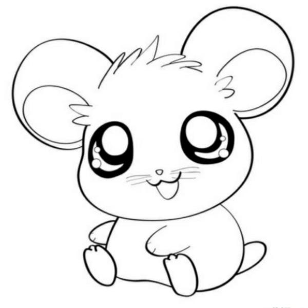 cute coloring pages of animals # 82
