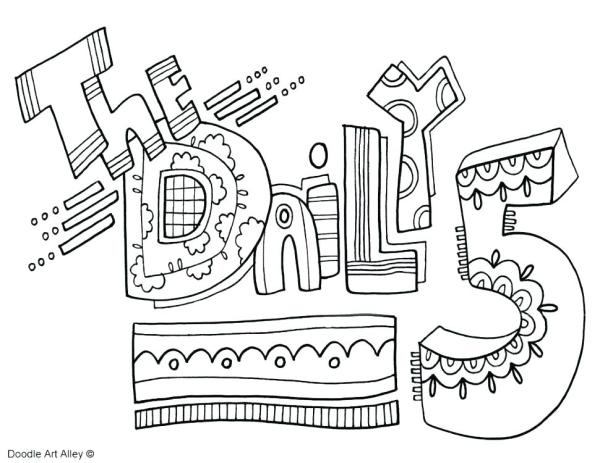 daily coloring pages # 62