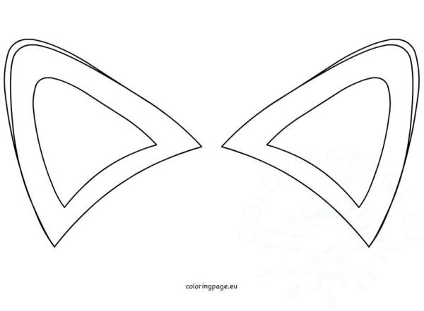 ear coloring page # 48