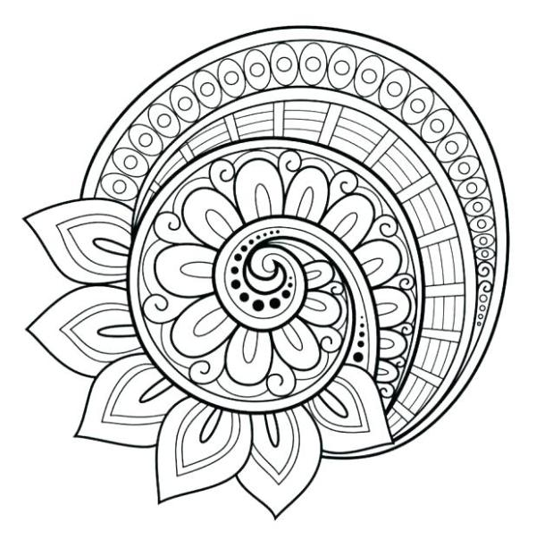 free printable abstract coloring pages # 68
