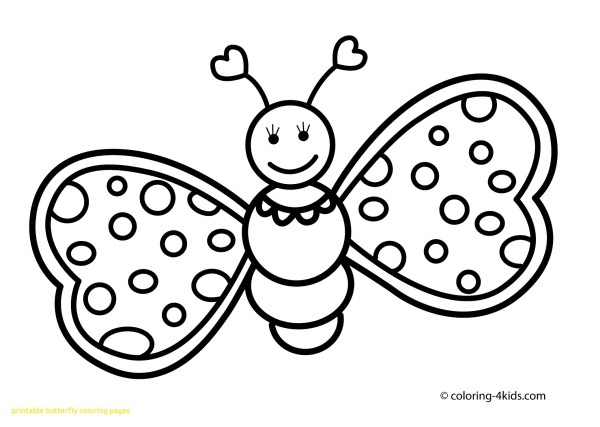 free printable butterfly coloring pages # 46