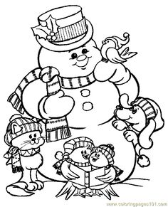free printable holiday coloring pages # 47