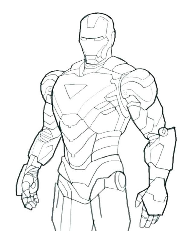 ironman coloring page # 63