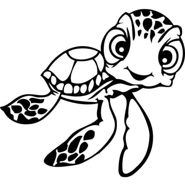 coloring pages turtle # 80