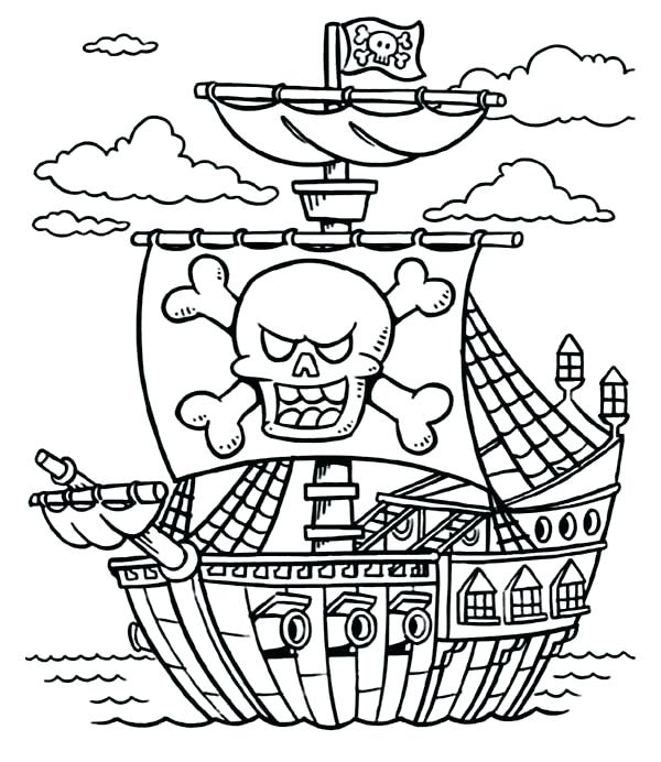 pirates of the caribbean coloring pages # 55