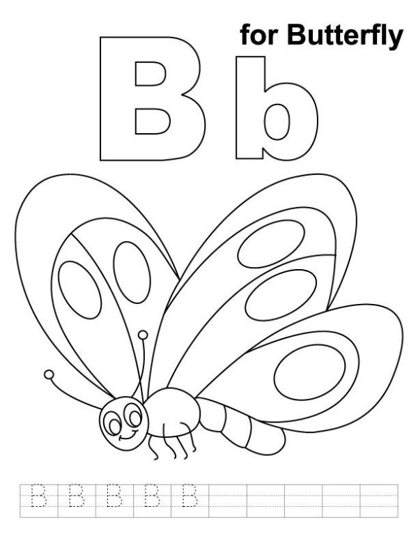 b coloring page # 68