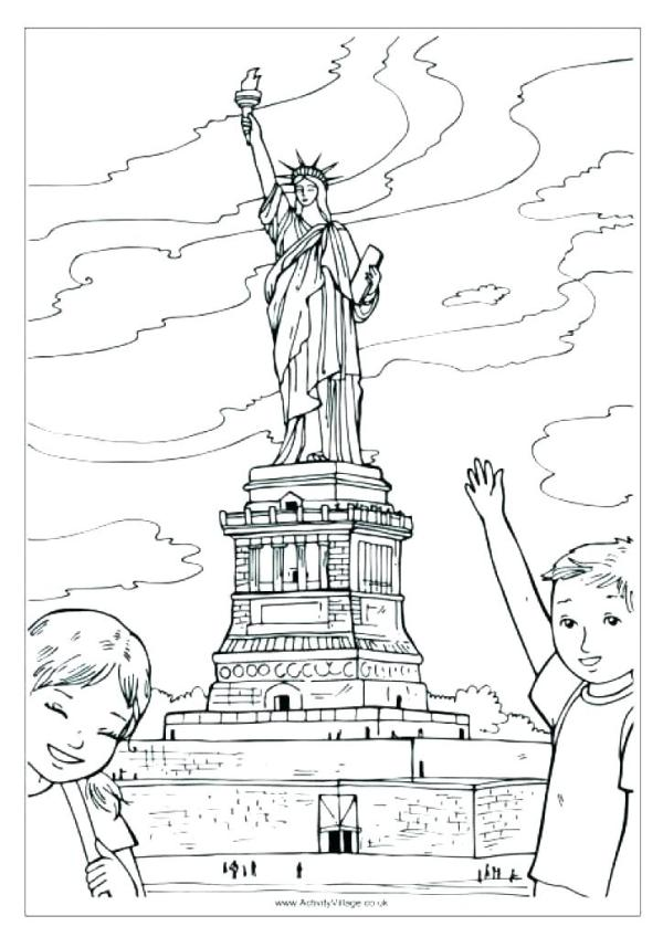 new york coloring pages # 66