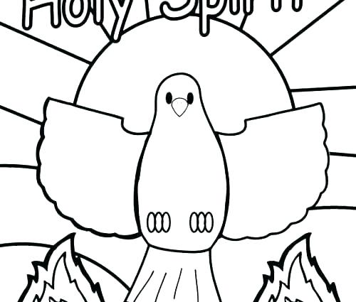 holy spirit coloring pages # 44