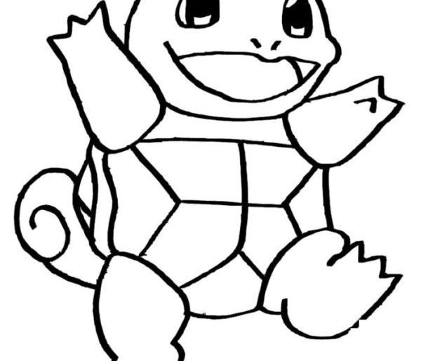 squirtle coloring pages # 49