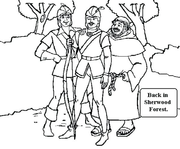 robin hood coloring pages # 65