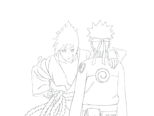 naruto shippuden coloring pages # 60
