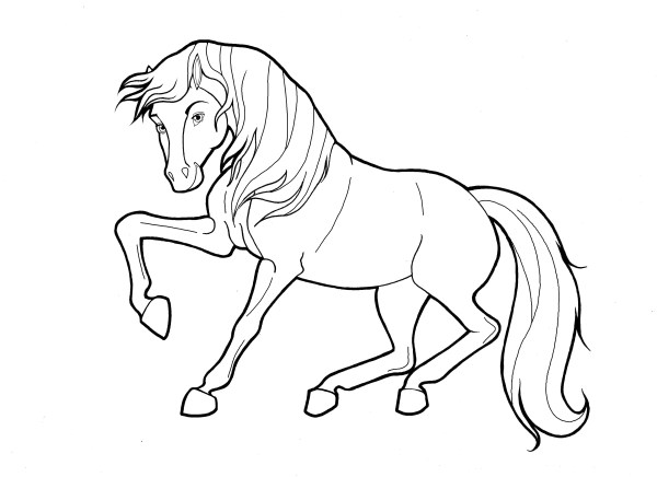 spirit stallion of the cimarron coloring pages # 16