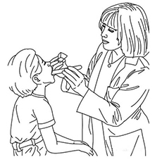 doctor coloring page # 63