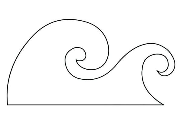 surfboard coloring pages # 38