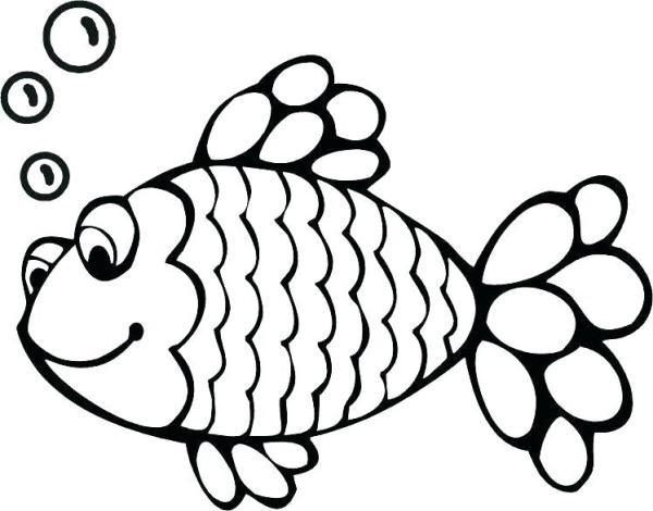 tropical fish coloring pages # 54