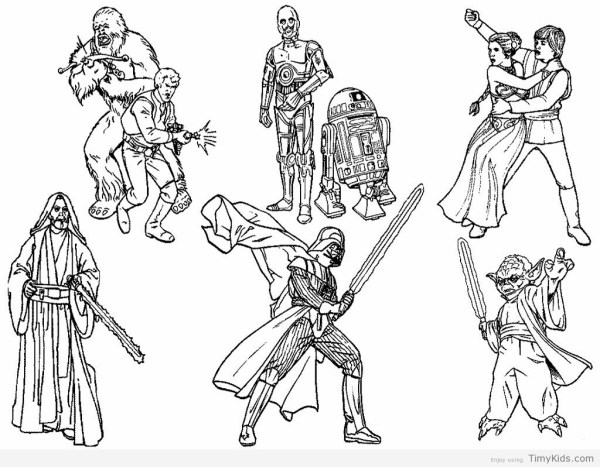 star wars printable coloring pages # 60