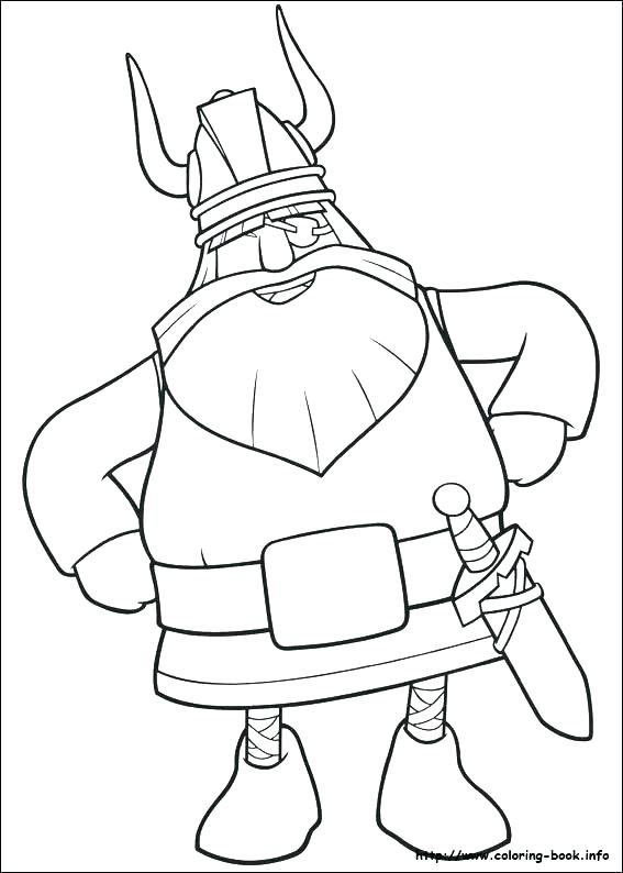 viking coloring pages # 47