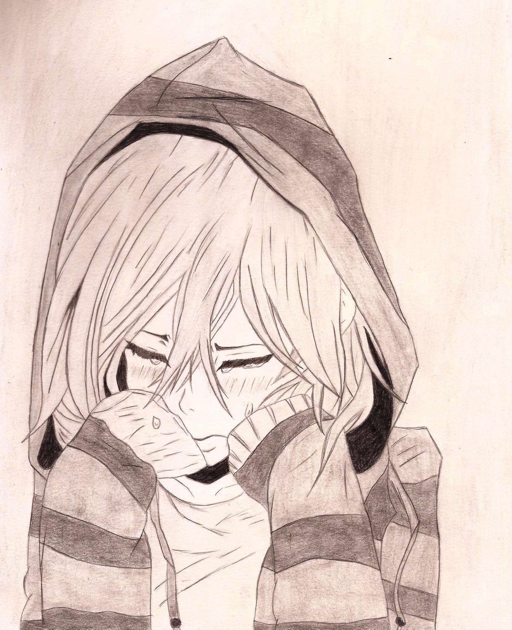 Anime Drawing Pencil at GetDrawings.com | Free for ...