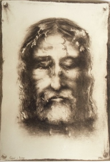 Face Of Jesus Drawing at GetDrawings com   Free for personal use     870x1280 Sr  Genevieve of the Holy Face            Illumina Domine Blog