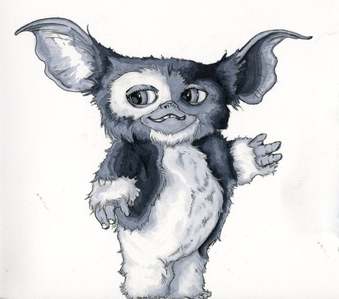 Gremlins Drawing at GetDrawings com   Free for personal use Gremlins     900x792 Gizmo  Gremlins by Aquasunami on DeviantArt