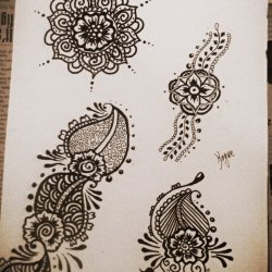 e99b09f92 Henna Flower Designs On Paper Tumblr | Gardening: Flower and Vegetables
