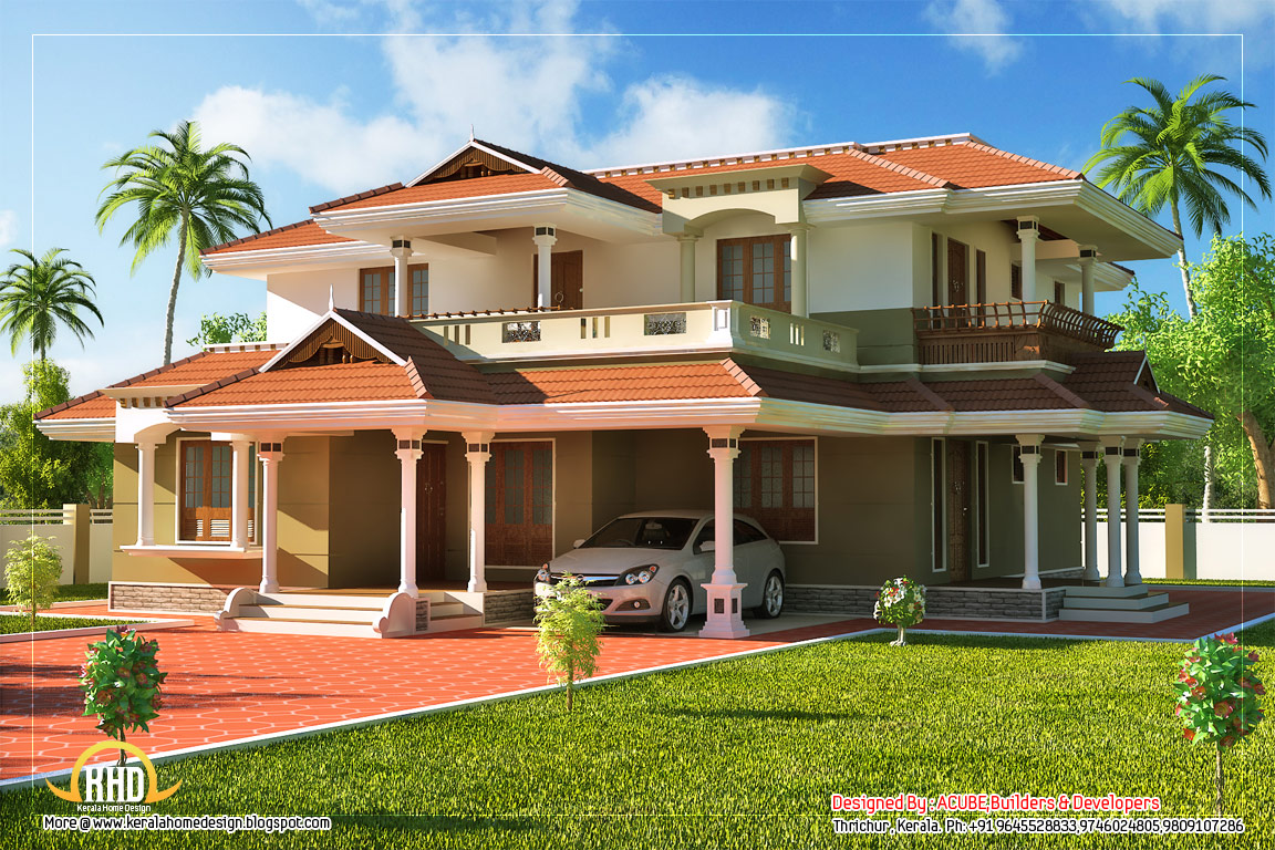 Two Story House Drawing at GetDrawings com   Free for personal use     1152x768 story house sq ft kerala home design floor plans benefits story