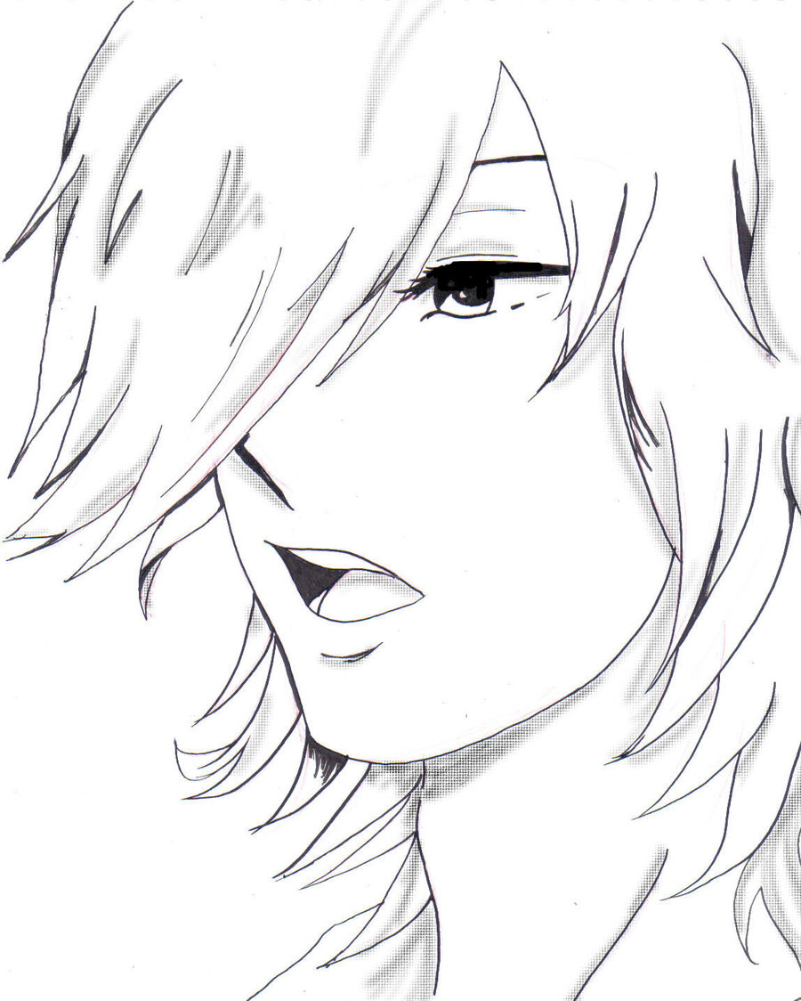 Anime Boy Drawing Base at GetDrawings.com | Free for ...