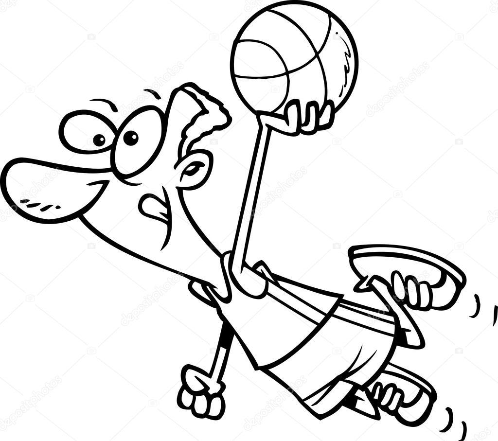 Basketball players drawing at getdrawings free for personal basketball players drawing 18 basketball players drawing
