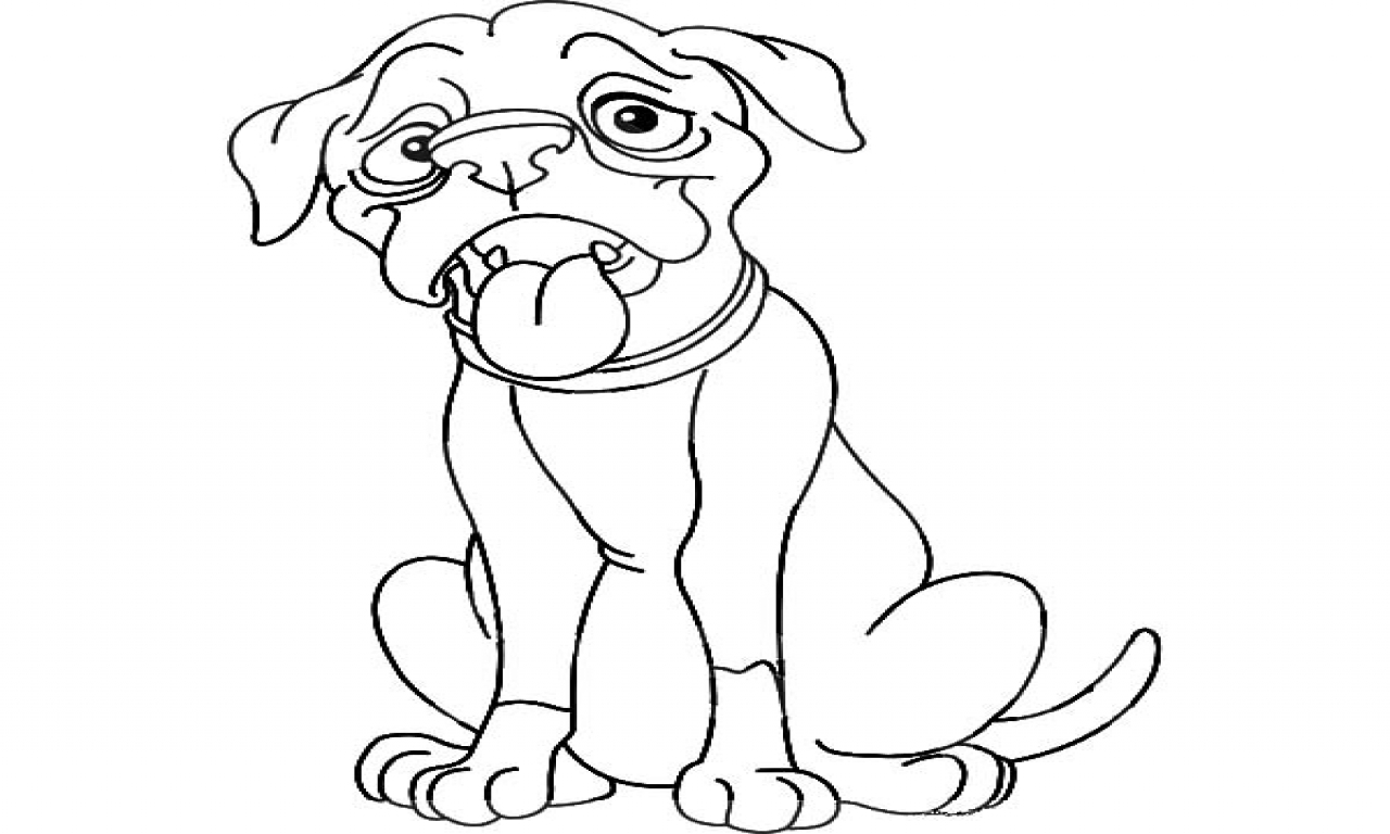 Boxer Dog Coloring Pages Free Coloring Pages Download | Xsibe dog ...